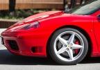 Jazda Ferrari Ulicami Miasta